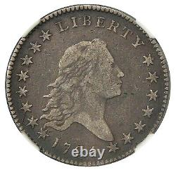 1794 50c NGC VF 20 PLEASING AND RARE FLOWING HAIR HALF DOLLAR (GRCON)