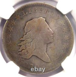 1795 Flowing Hair Half Dollar 50C Coin Certified NGC VG8 $1,560 Value