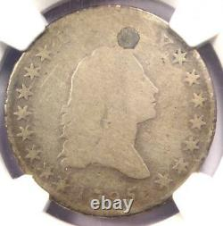 1795 Small Head Flowing Hair Half Dollar 50C (O-126) NGC AG Details (Plugged)