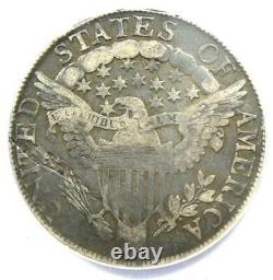 1806/5 Draped Bust Half Dollar 50C Coin Certified ANACS VF20 Details