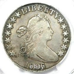 1806/5 Draped Bust Half Dollar 50C Overdate Coin O-103. Certified PCGS AU Detail