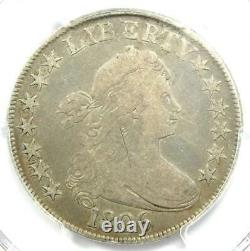 1806 Draped Bust Half Dollar 50C Coin Certified PCGS Fine Details