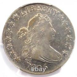 1806 Draped Bust Half Dollar 50C Coin Certified PCGS XF45 $2,100 Value