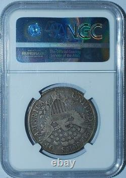 1806 NGC VF20 O-116 T-20 R. 3 Pointed 6 With Stem Draped Bust Half Dollar