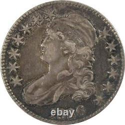 1826 Capped Bust Half Dollar XF EF Extremely Fine 89.24% Silver 50c US Type Coin