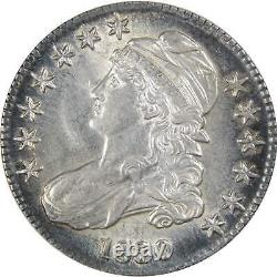 1830 Capped Bust Half Dollar CHAU Choice About Uncirculated 89.24% Silver 50c