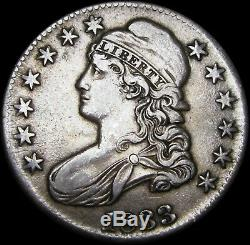 1833 Capped Bust Half Dollar Silver Type Coin - NICE - #Z805