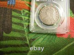 1834 Capped Bust LARGE Date SMALL Letters Silver 50c PCGS XF 45 Original Coin