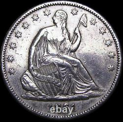 1861-O Seated Liberty Half Dollar Type Coin US Coin - Nice Details - #D121
