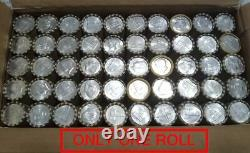 1964 Kennedy+ONE UNOPENED ESTATE SALE ROLL HALVES MIGHT BE 90% SILVER COINS