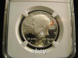 1964 Kennedy Silver 50C, NGC PF69 Ultra Cameo