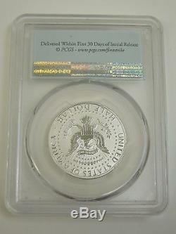 2014 W Silver Reverse Proof Kennedy Half PCGS PR70 PF High Relief Anniversary