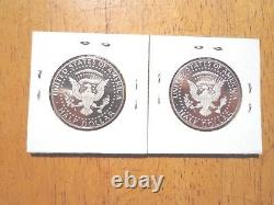 2018 P D S S Silver & Clad Proof Kennedy Half Dollar PDSS 4 Coin Lot Set