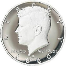 2020 P D S S Kennedy Half Dollar Year Set Silver & Clad Proof & BU US 4 Coin Lot