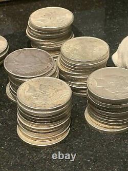 $5.00 Face Value 1964 or earlier, 90% silver from an Unsearched old estate hoard