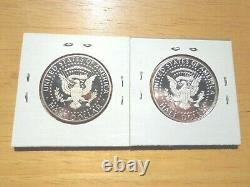 IN STOCK 2020 P D S S Silver & Clad Proof Kennedy Half Dollar 4 Coin Set PDSS