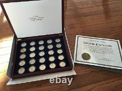 Silver Walking Liberty Half Dollar Complete Set Collection 1916 1947 25 COINS