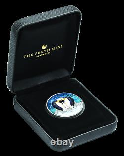 Tuvalu 2018 Always Together Penguin Couple Half Dollar Silver Coin Proof